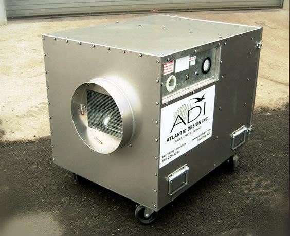 air negative machine